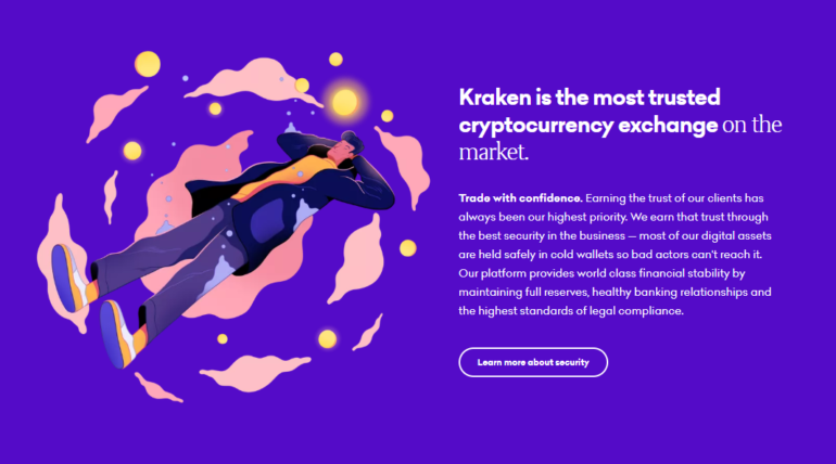 Kraken Most Trusted