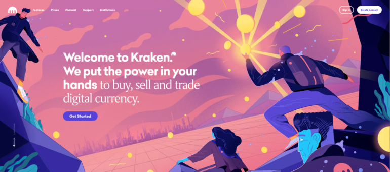Kraken Welcome